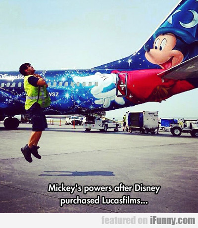 Mickey's Powers After Disney...