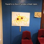 Found In A Church Sunday School Room...