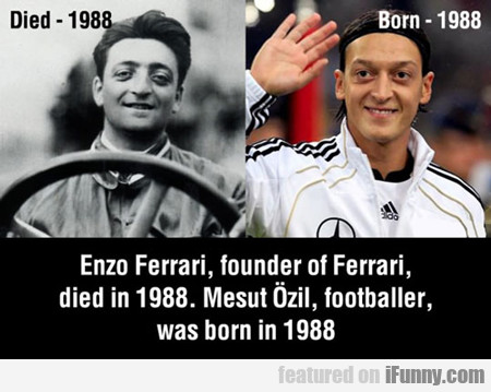 Enzo Ferrari, Founder Of Ferrari...