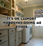It's Ok Laundry, Nobody Is Doing Me Either...