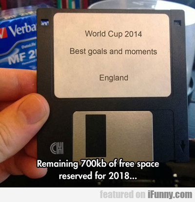 remaining 700 kb of free space...