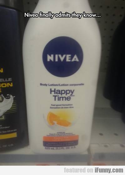 Nivea Finally Admits They Know...
