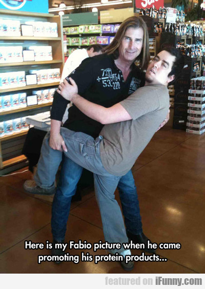 Here Is My Fabio Picture...