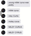 Young Millet Cyrus Was Pretty