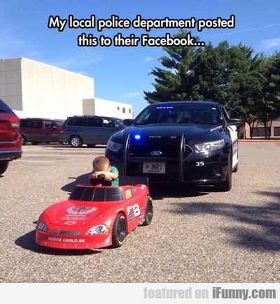 my local police department...