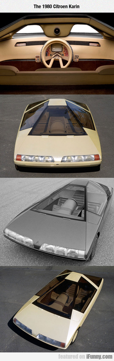 The 1980 Citroen Karin...