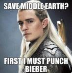 Save Middle Earth...