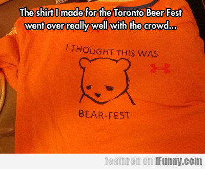 the t-shirt i made for the toronto beer fest...