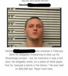 Harold Was Arrested In February 2012 For....