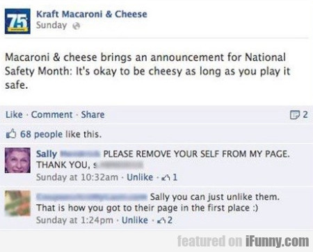 Macaroni & Cheese Bring An Annoucement For...