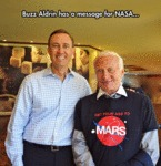 Buzz Aldrin Has A Message For Nasa...