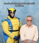 Even Stan Lee Has To Pretend To Give A Shit...
