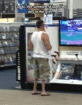Looks Like Someone Skipped Leg Day At The Gym...