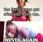 The Feeling You Get After You Have Run...