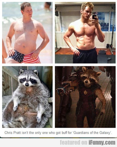 Chris Pratt Isn't The Only One Who Got Buff...
