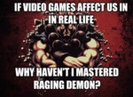 If Video Games Affect Us In Real Life