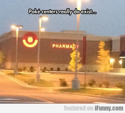 Poke Centers Really Do Exist...