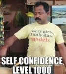 Self Confidence Level 1000...