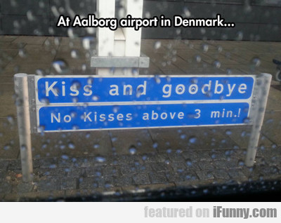 At Aalborg Airport In Denmark...