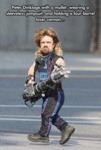 Peter Dinklage With A Mullett...