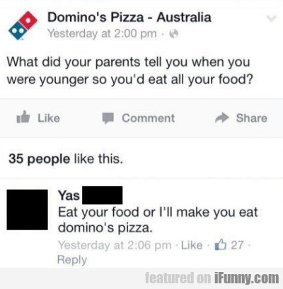 what did your parents tell you when