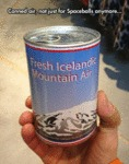 Canned Air, Not Just For Spaceballs Anymore...
