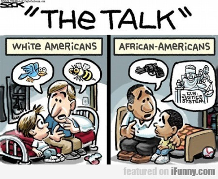 The Talk - White Americans - African Americans