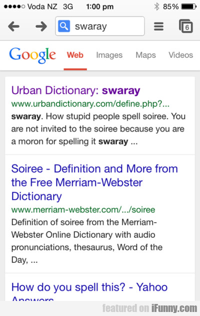 Urban Dictionary - Swaray.how Stupid People...
