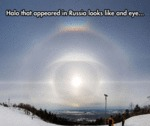 Halo That Appeared In Russia...