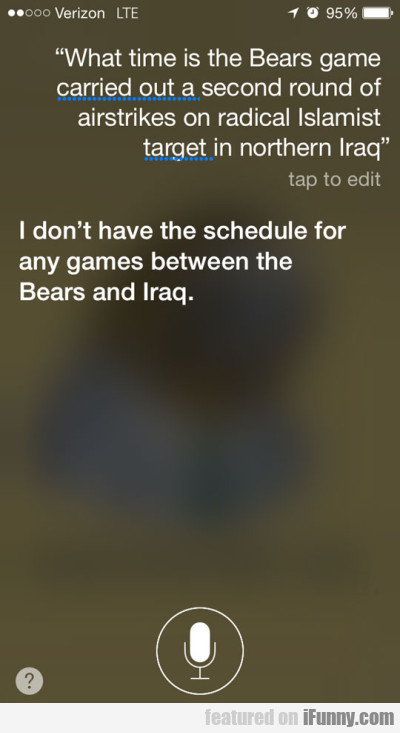 What time is the Bears game carried out a...