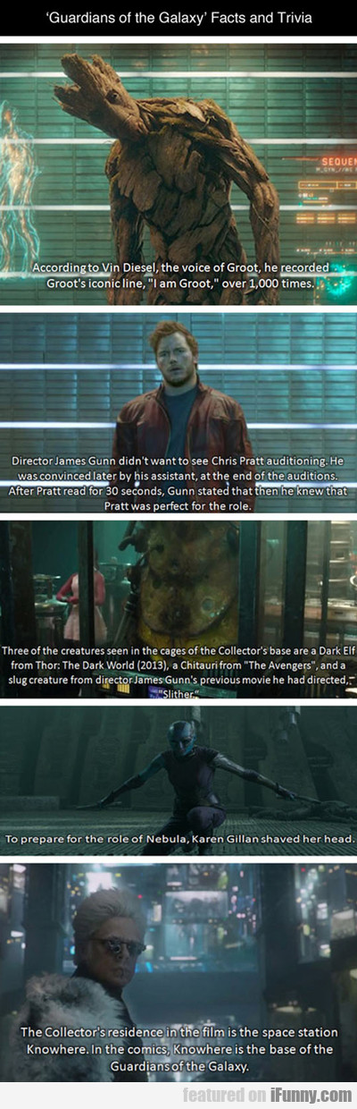 Guardians Of The Galaxy Facts And Trivia...