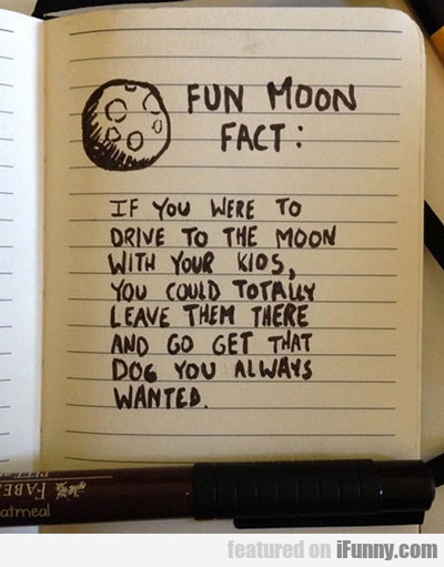 Fun Moon Fact...