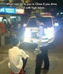What Cops Do To You In China...