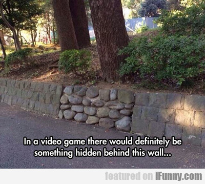 in a video game...
