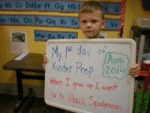 My 1st Day Of Kinder Prep. When I Grow Up...