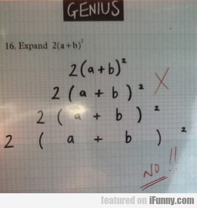 Expand 2(a+b)2...