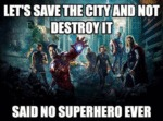 Let's Save The City And Not Destroy It...