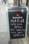 Red Bull May Give Wings But Whisky Gives You...