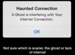 Haunted Connection - A Ghost Is Interfering With..