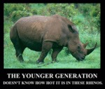 The Younger Generation...
