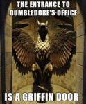 The Entrance To Dumbledore's Office...