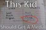 This Kid Should Get A Medal...