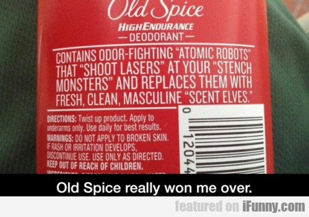 Old Spice Really Won Me Over