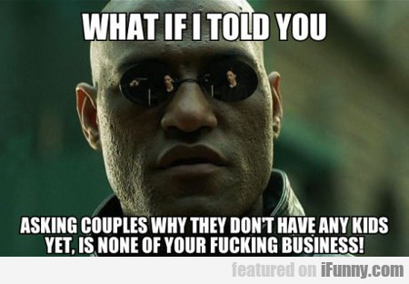 What If I Told You Asking Couples...