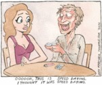 Oooooh This Is Speed Dating. I Thought It Is..