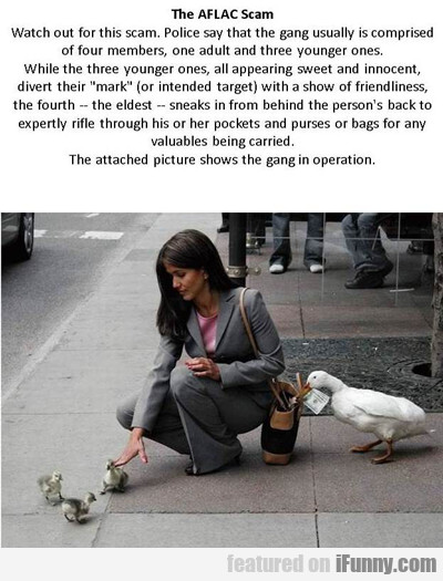The Aflac Scam...