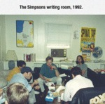 The Simpsons Writing Room...