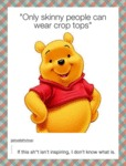 Only Skinny People Can Wear Crop Tops...