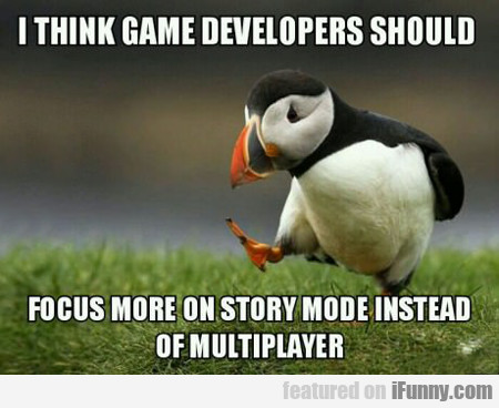 I Think Game Developers Should...