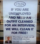 If You Are Unemployed And Need...